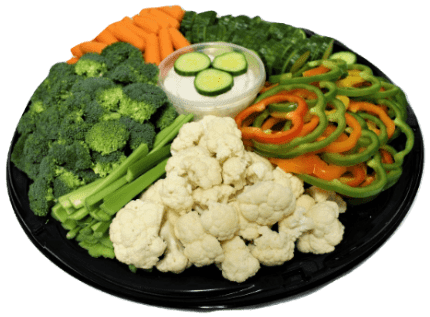 Veggie Tray - Picnic Lunch-min